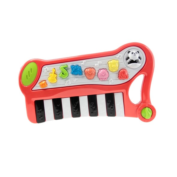 Star Moon 2-in-1 Mini Animal Musical Keyboard - Music